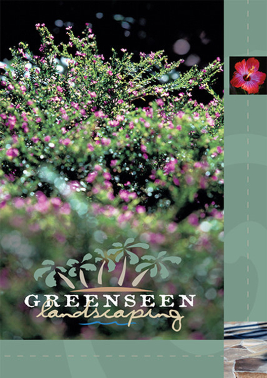 landscaping brochure design and photography Houston
